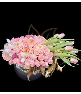 Flores Diseño de Lujo Rosa