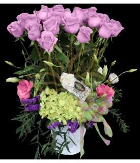 Lavender Roses Garden