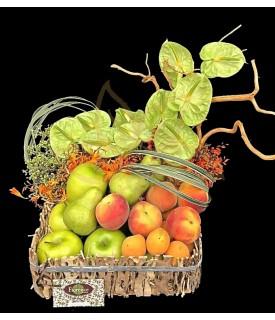 Anturios con fruta