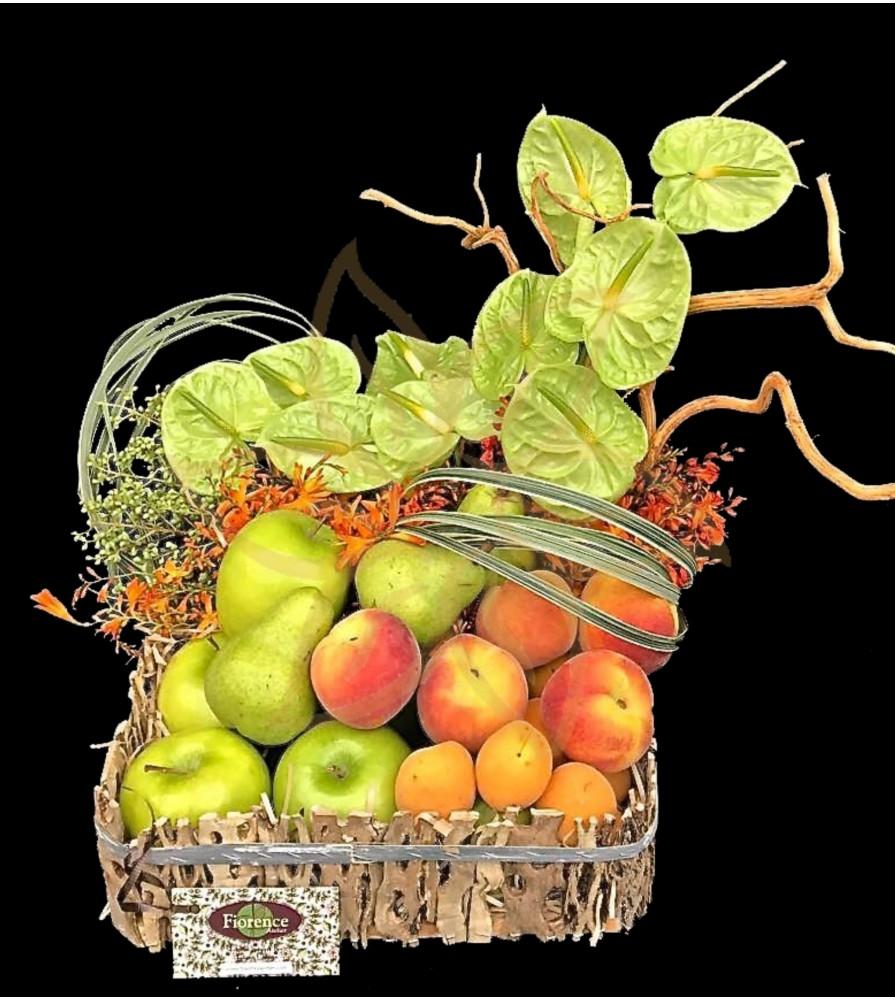 Anthurium and Fruit