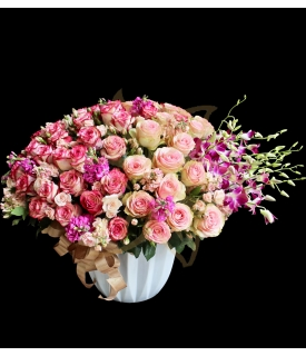 Magenta & Pink Splendor