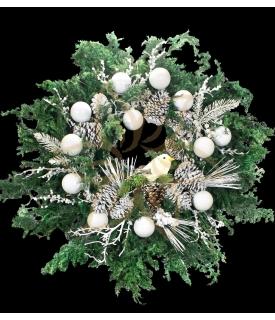 Magic Christmas Wreath Decor