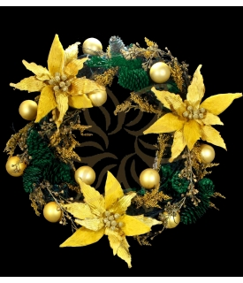 Elegance Christmas Wreath