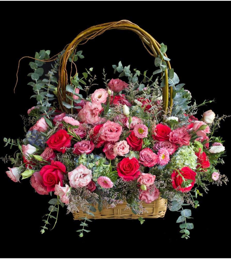 rosa escarlata