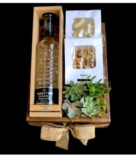 Tequila con Botana gourmet
