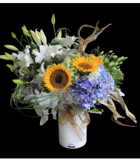 Contemporary Sunflowers Design