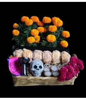 Canasta Día de Muertos para...