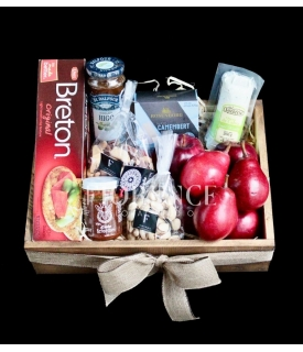 Fruit, Cheese & Snacks Gift...