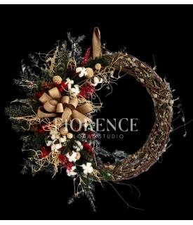 Organic Christmas Wreath