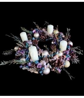 Eucalyptus Advent Wreath