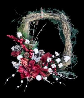 Happy Holidays Christmas Frame