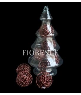 Glass Chirstmas Tree