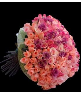 Bouquet de 200 Rosas